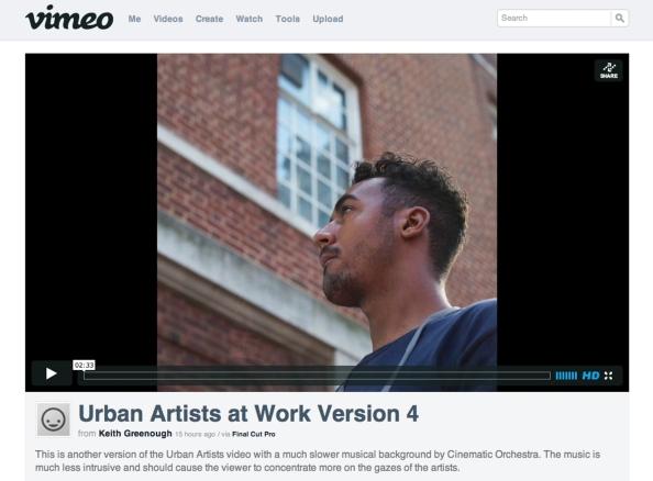 Urban Artists at Work Version 4