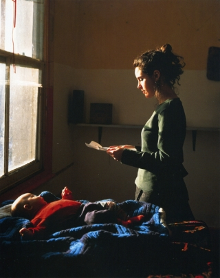 Woman Reading a Possession Order © Tom Hunter http://www.tomhunter.org/persons-unknown/