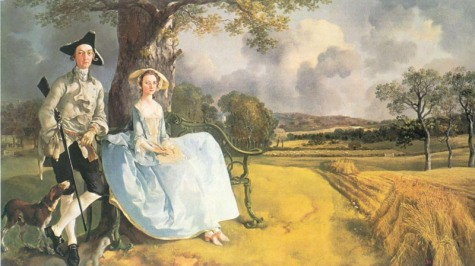 Mr and Mrs Robert Andrews, Thomas Gainsborough, 1748-50