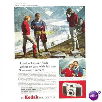 Kodak Camera Advertisent