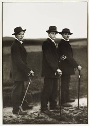 Young Farmers 1914 by August Sander 1876-1964