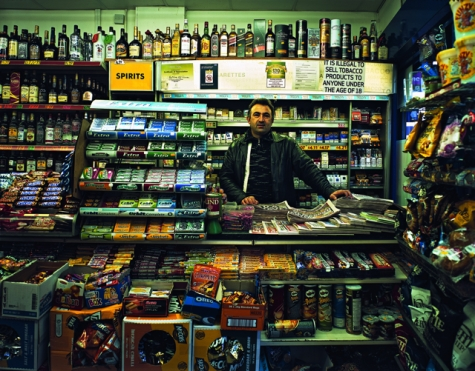 Trading Places - Off Licence © Tom Hunter http://www.tomhunter.org/trading-places/