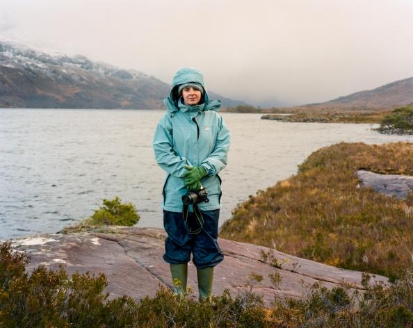 Rebecca, Loch Maree February 2013