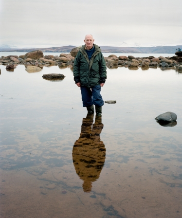 Robin, Laide February 2013  (from the 'Landscape in Mind' series by Keith Greenough) ©Keith Greenough