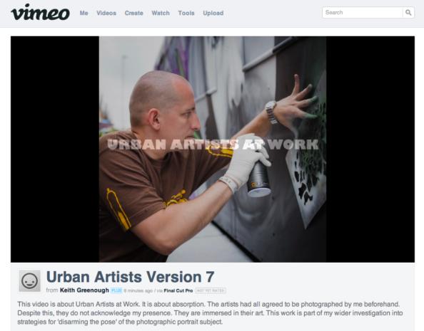 URBAN ARTISTS SCREEN SHOT