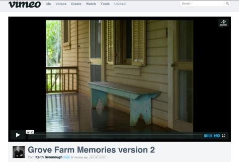 Grove Farm Memories Version 2 ©Keith Greenough 2013