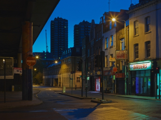 Cable Street, looking East from Junction with Leman Street