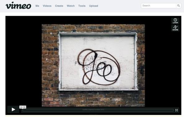 Vimeo page grab