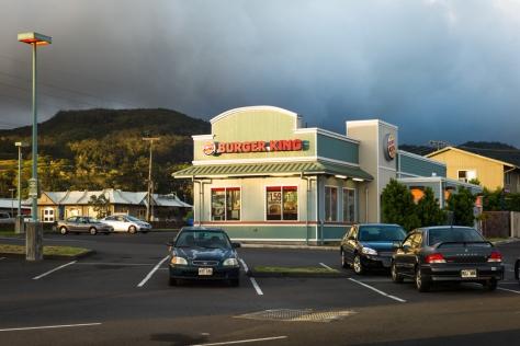 Burger King, Waimea ©Keith Greenough 2013