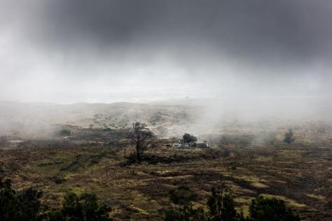 Deserted farm building, Kohala ©Keith Greenough 2013