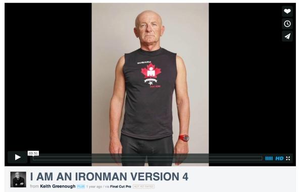 I am an Ironman Video