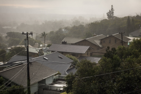 Rain, Waimea ©Keith Greenough 2013