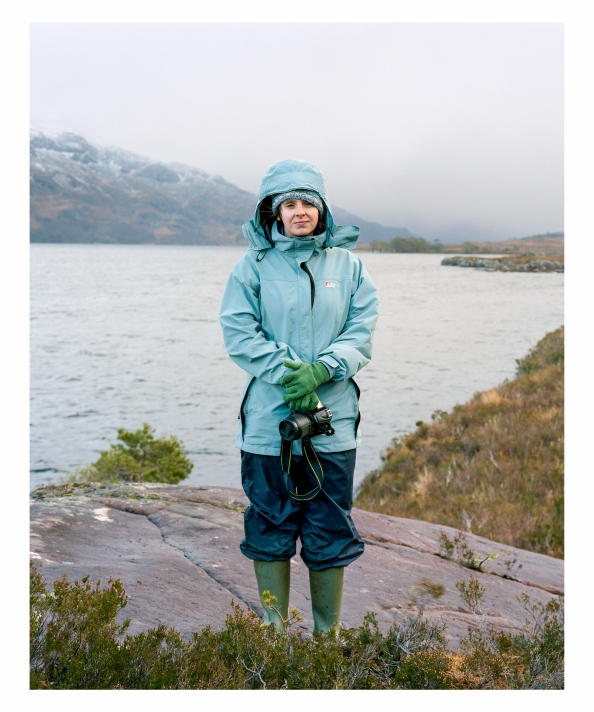 Rebecca Hughes, Loch Maree February 2013 ©Keith Greenough 2013