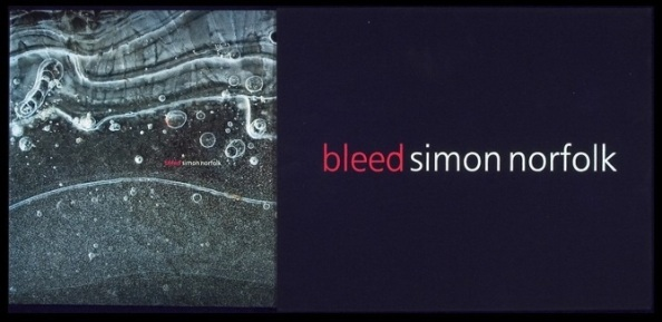 Bleed book cover (copyright  Simon Norfolk)