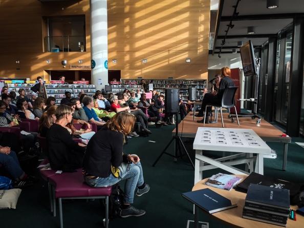 Chloe Dewe Mathews Artist Talk — Brighton Biennial 2014