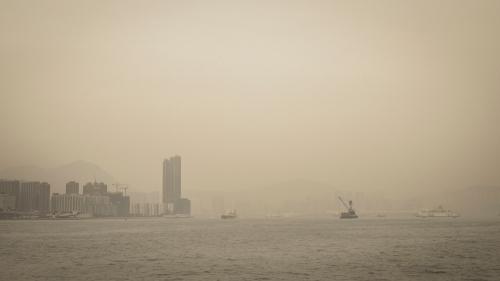 Victoria Harbour Hong Kong ©Keith Greenough 2014
