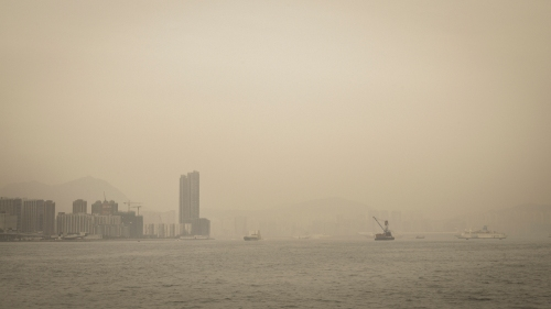 Victoria Harbour Hong Kong ©Keith Greenough 2014