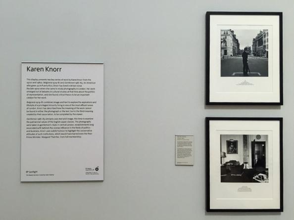 Display panels — Karen Knorr Tate Britain Exhibition - December 2014