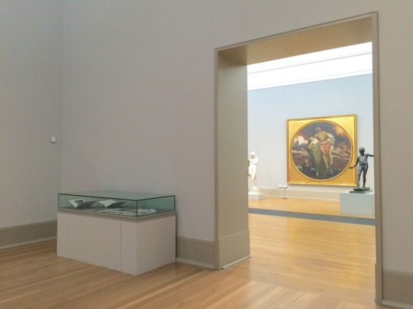 Display cabinet — Karen Knorr Tate Britain Exhibition - December 2014