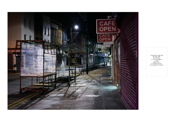 Lifting the Curtain - Diptych Print Wentworth Street ©Keith Greenough 2014