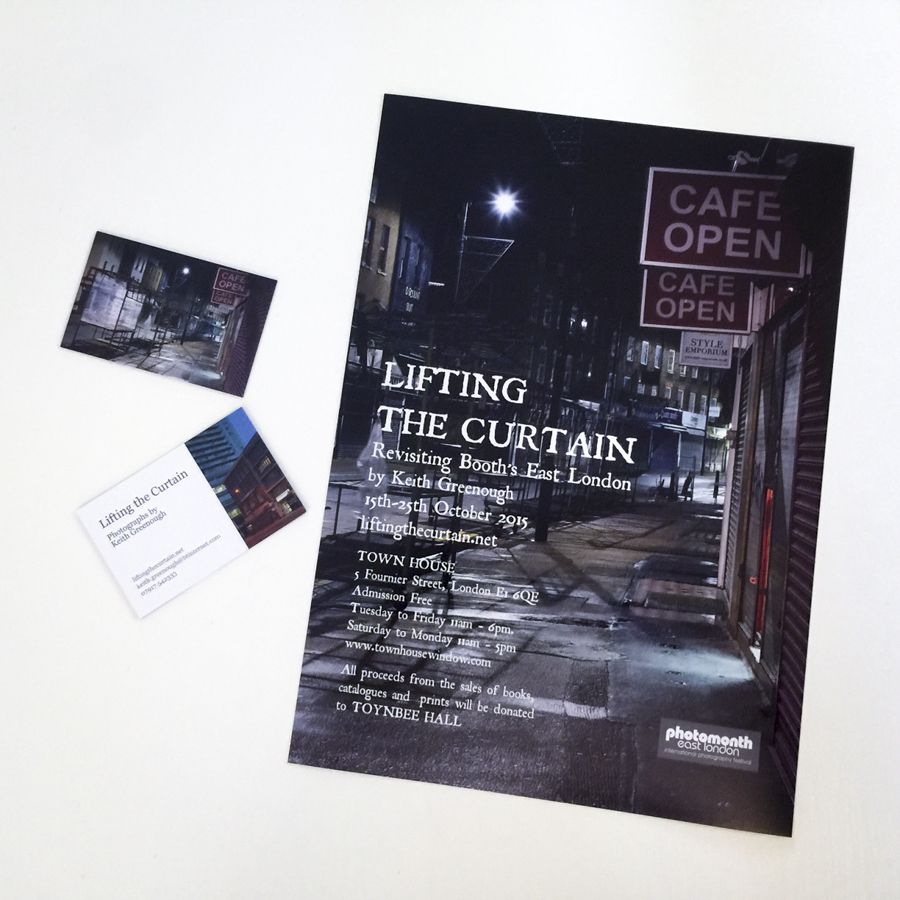 Lifting the curtain exhibition catalogue posters and business posters and business cards for lifting the curtain exhibition keith greenough 2105 reheart Images