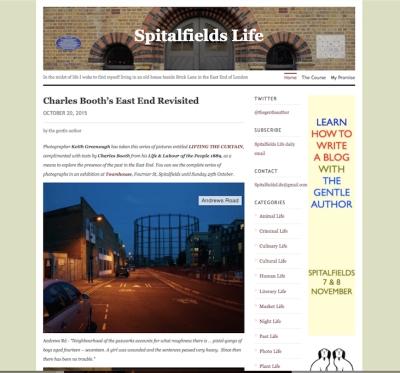 Spitalfields Life
