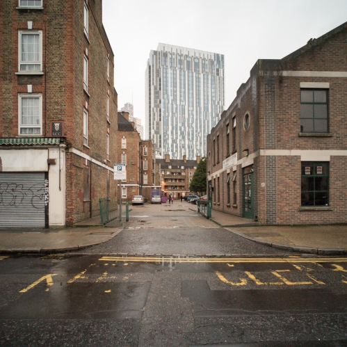 Brune House from Toynbee Street, November 2015 ©Keith Greenough 2015