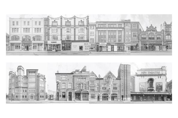 george-street-postcard